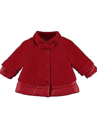 Mayoral, Abrigo para bebé niña - 2487, Rojo: Amazon.es: Ropa y accesorios