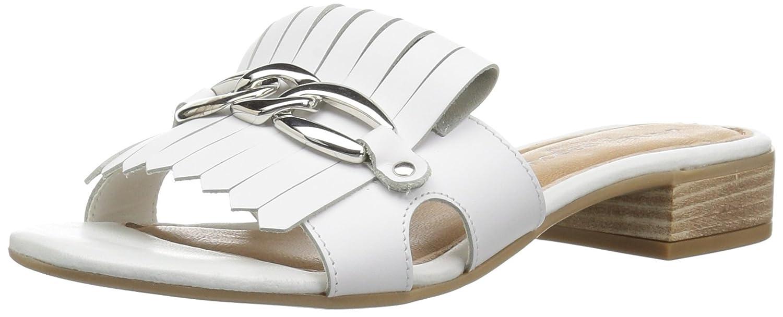 André Assous Women's Vivien Slide Sandal B077KF6SD9 6 M US|White