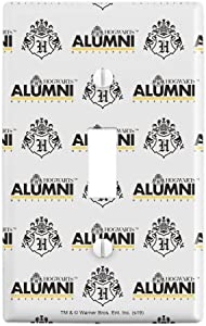 GRAPHICS & MORE Harry Potter Hufflepuff Alumni Plastic Wall Decor Toggle Light Switch Plate Cover