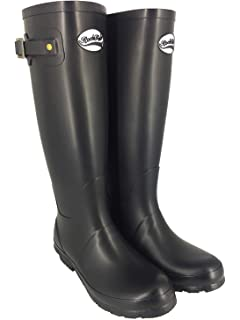 Shires Rockfish Tall Matte Wellington Boot 5 Dragonfly