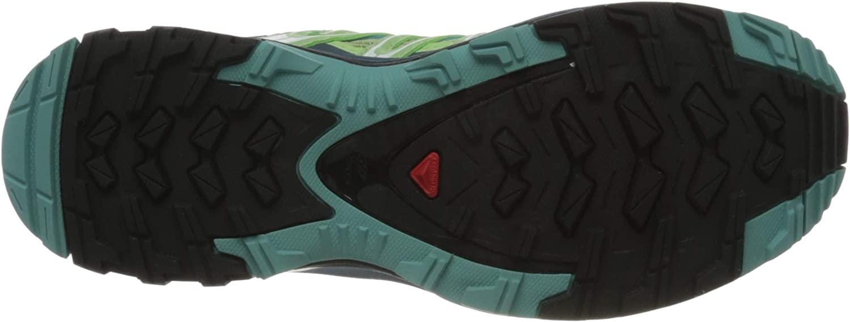 Salomon Xa Pro 3d W, Chaussures De Trail Femme Gris Spruce Stone Indian Teal Meadowbrook