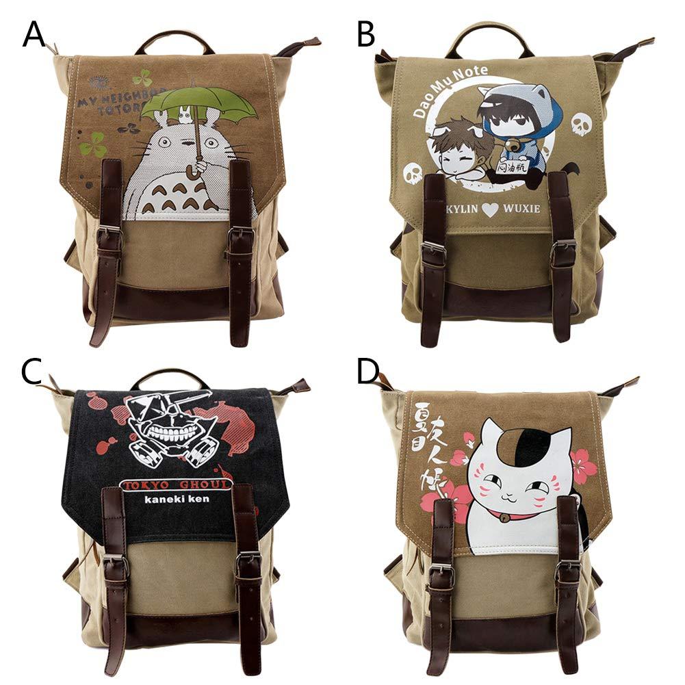 liaoting938 - Mochila de Viaje para portátil de 14 Pulgadas, Totoro diseño de Dibujos Animados Totoro Pulgadas, 5a5d40