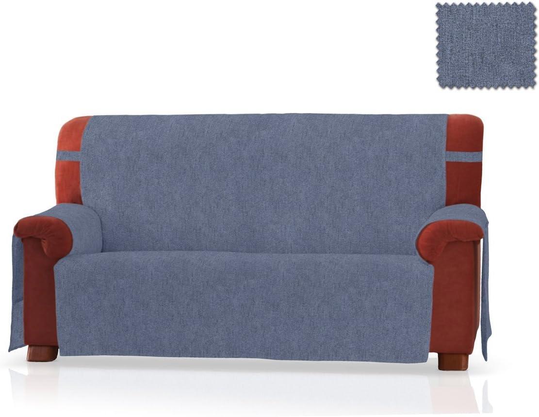 JM Textil Sofaschoner Pharma Gr/ö/ße 2 Sitzer Farbe Blau 130 cm