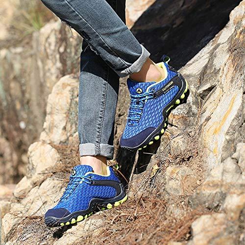Viaggio Da Donna Il Scarpa Running Da Viaggio ASHOP Stivali Blu Da Antiscivolo Da Per Invernali Tempo Scarpa Escursione Donna Scarpa Scarpe Da Trekking Libero XH101q