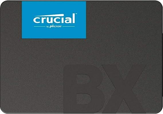 Crucial BX500 2 TB CT2000BX500SSD1 fino a 540 MB/s, SSD Interno, 3D NAND, SATA, 2.5 Pollici