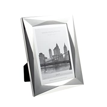 Amazoncom 5x7 Inch Silver Picture Frame Made Of Electroplating