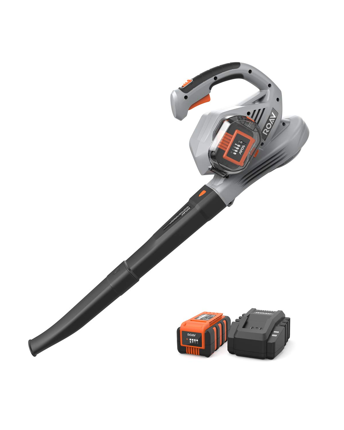 Anker Roav 36V Cordless Leaf Blower, 220 MPH Max Speed, Lock Switch, 3.0 AH Battery and Charger Included by ROAV