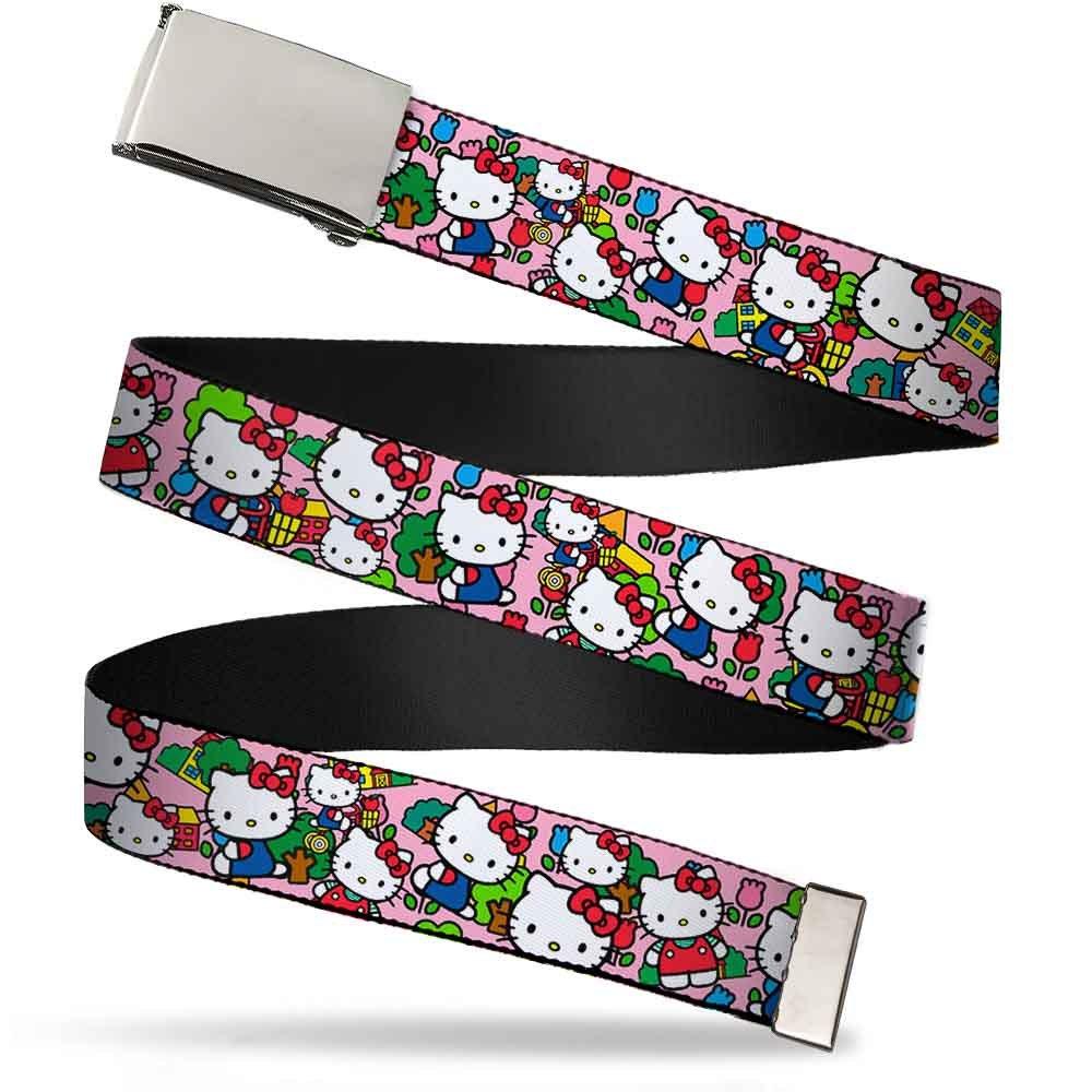 Buckle Down boys standard Buckle-down Web Belt Hello Kitty 1.25