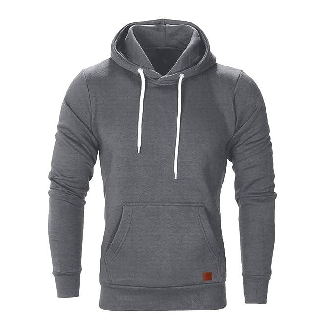 Amazon.com: Boomboom Men Shirts, Teen Boys Autumn Casual Sunglasses Printed Hooded Sweatshirts: Clothing
