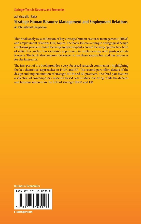 strategic human resource management case studies