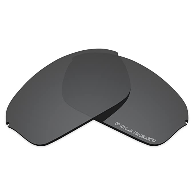 d09409a2b6 Amazon.com  Tintart Performance Lenses Compatible with Oakley Half Wire 2.0 Polarized  Etched-Carbon Black  Clothing