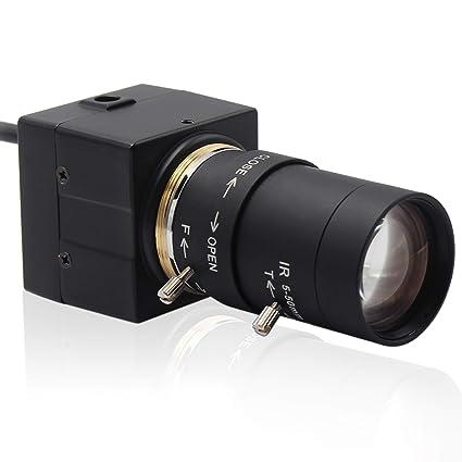 Camera USB 5-50mm Varifocal Lens Webcam High Speed VGA 100fps USB with  Camera CMOS OV2710 Sensor Full HD 1080P USB Camera with Aluminum Mini Case