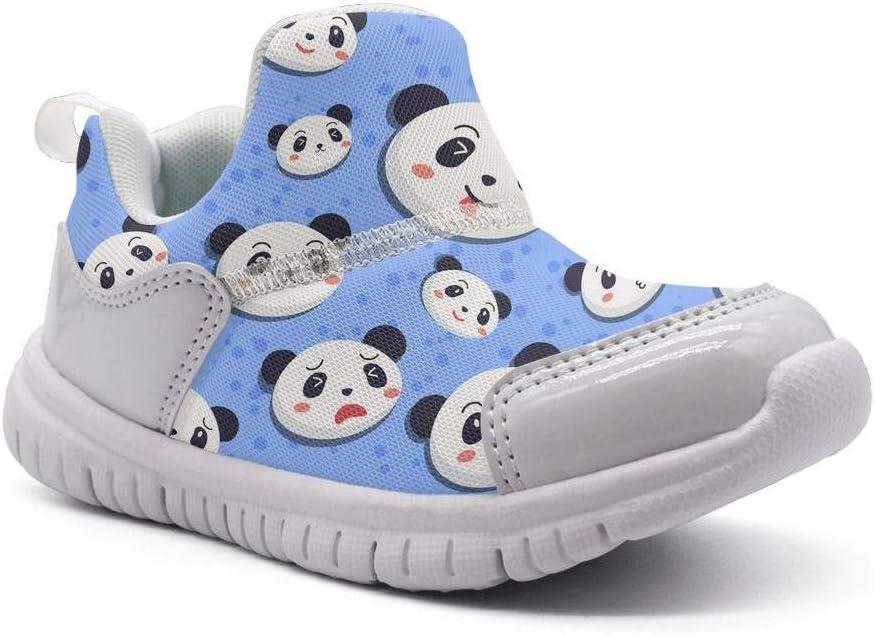 ONEYUAN Children Blue Panda Bear Kid Casual Lightweight Sport Shoes Sneakers Walking Athletic Shoes