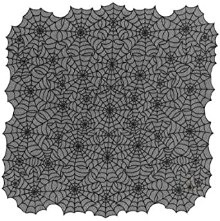 product image for Heritage Lace Gothic Lace Spiderweb Table Topper Multicoloured One Size
