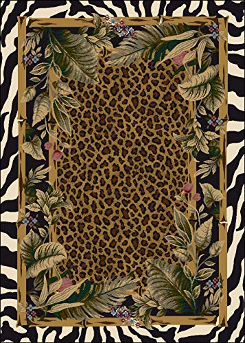 Milliken Signature Collection Jungle Safari Rectangle Area Rug, 2'8