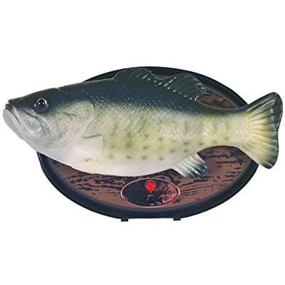 Gemmy 36105 Big Mouth Billy Bass The Motion Activated Singing Sensation: Toys & Games