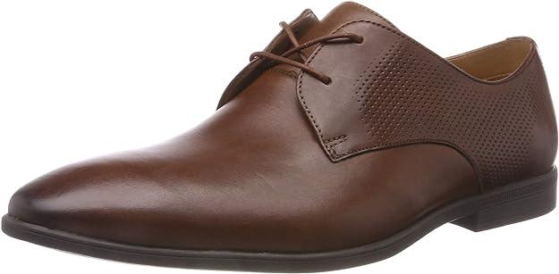 TALLA 41.5 EU. Clarks Bampton Walk, Zapatos de Cordones Derby para Hombre