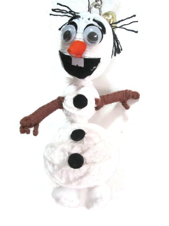 Amazon.com: 1 x Olaf Voodoo Cadena Llavero con muñeca ...