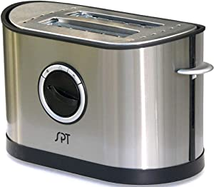 SPT SO-337T Two-Slot Stainless-Steel Toaster, 32 mm (1.26
