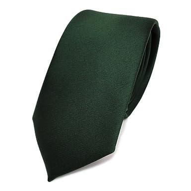 TigerTie - corbata estrecha - verde verde oscuro abeto verde ...
