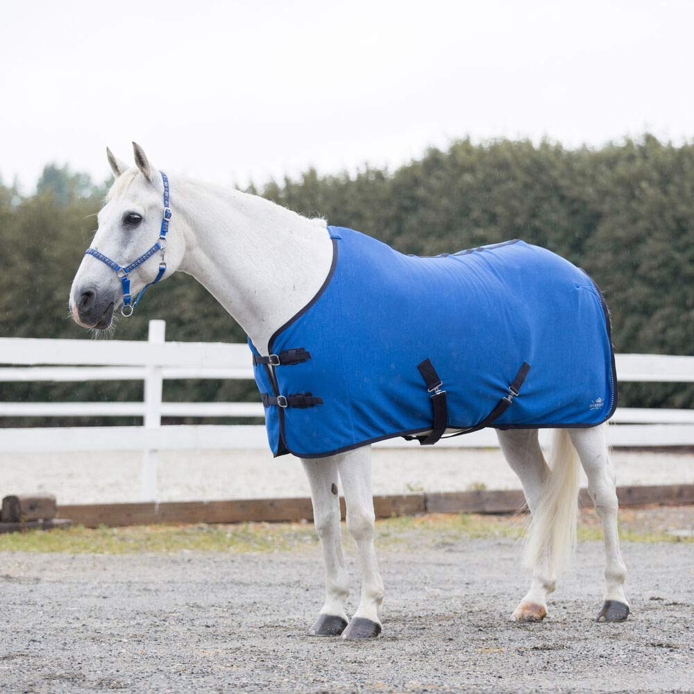 Buy Horze Pony Fleece Cooler - Blue Jeans(JB) - 49 Online at Low Prices in  India - Amazon.in