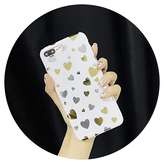 Amazon.com: Luxury Gold Plated Bling Imd Soft Silicone Cover ...