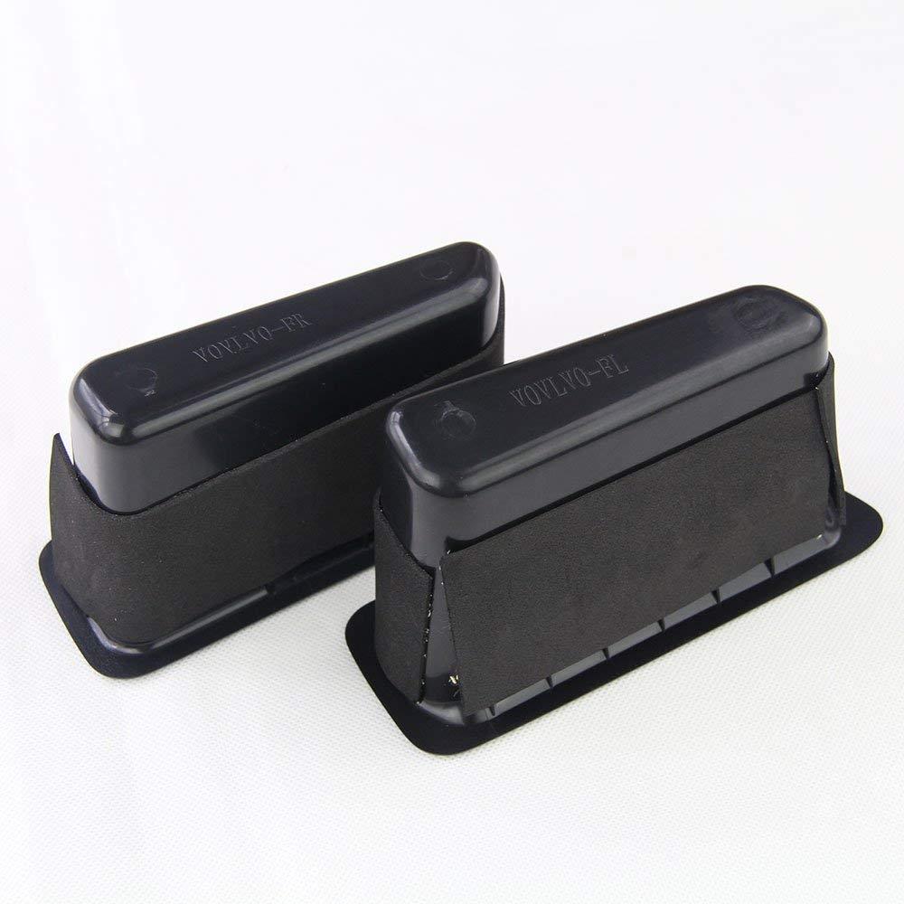 front beige 2pcs MAVMAX For XC60 2014-2017 Black//Beige Front And Rear Door Handle Storage Box