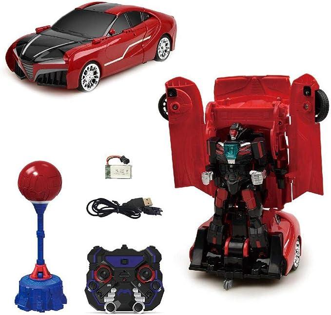 Tawcal Transform RC Car Robots,3 en 1 RC Car One Button Warping ...