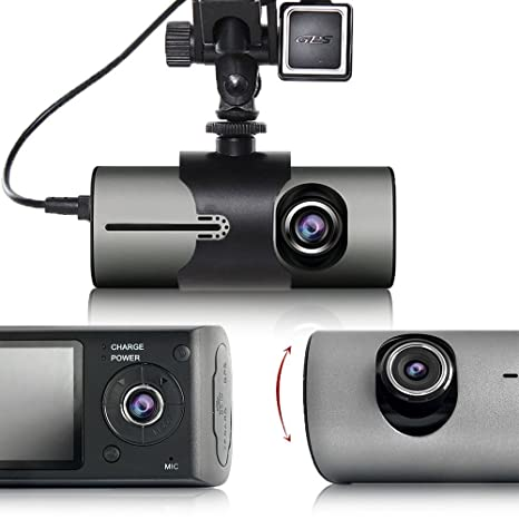 "Indigi accidente grabador coche DVR Dash Cam + 2,7 ""Lcd + Dual"