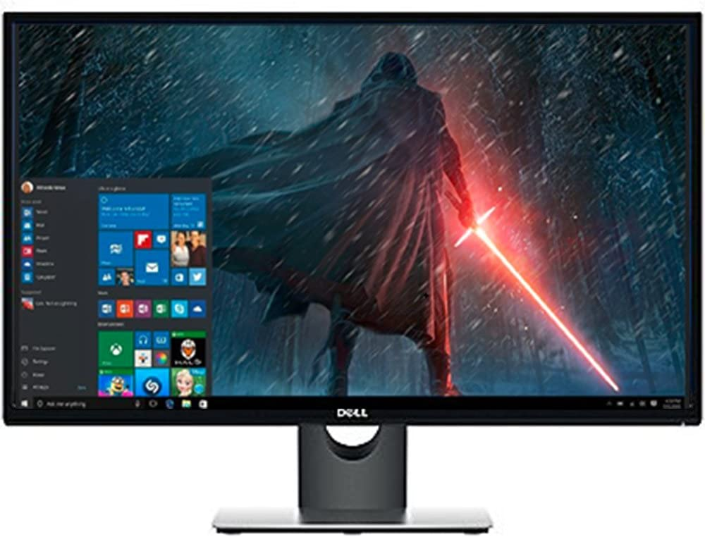 "Premium High Performance Dell 27"" Full HD IPS LED-Backlit 1920x1080 Resolution Monitor Widescreen 16:9 Aspect Ratio 6ms Response Time HDMI VGA Inputs,Black"