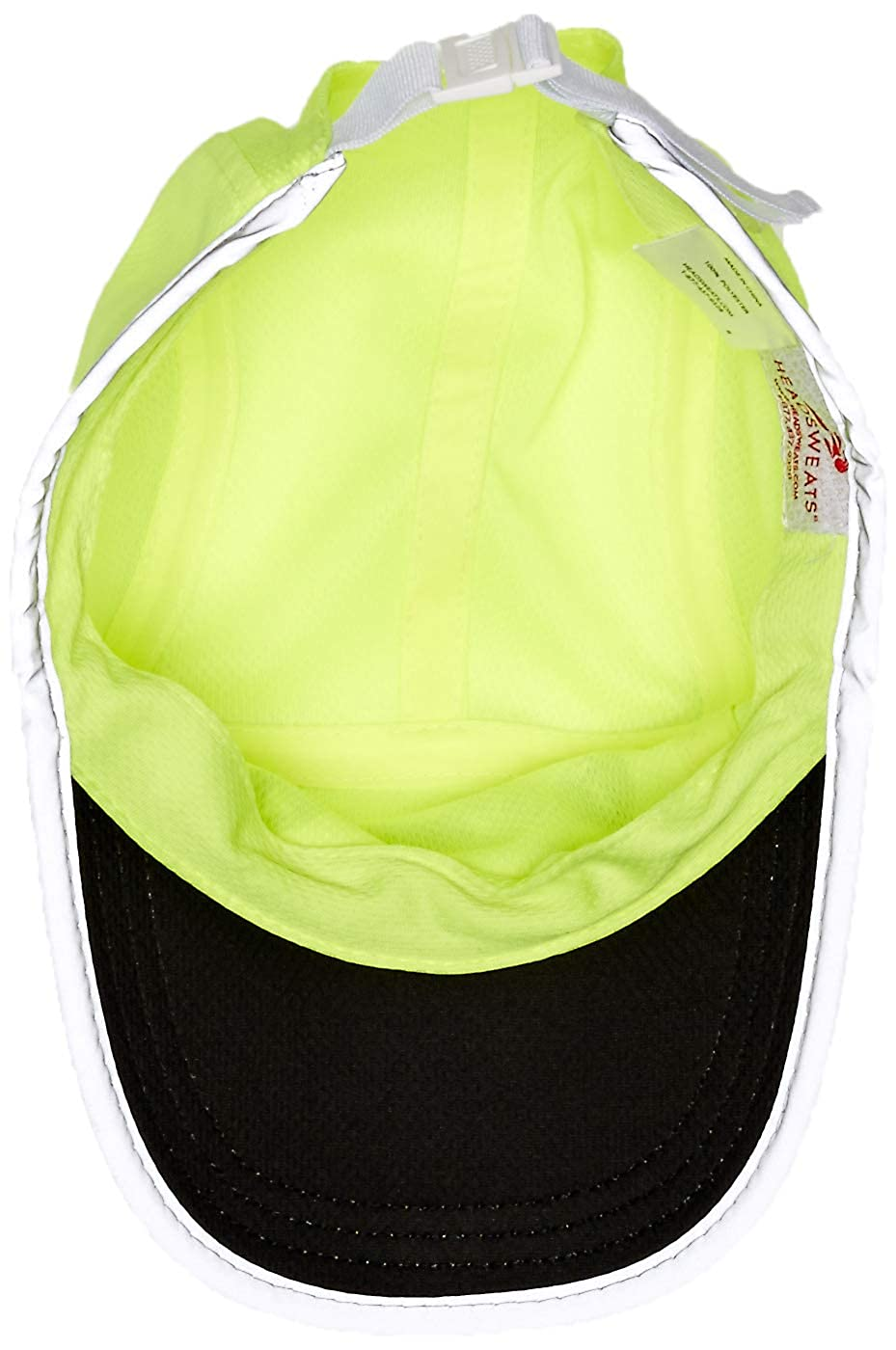 IMBA Race Hat Headsweats Performance Race Hat One Size High Visibility Yellow Reflective