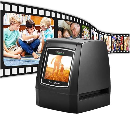 Kecheer - Escáner de película Dia, 35 mm, 135 mm, Negativo de Diapositivas, convertidor de película de Diapositivas, Visor de Fotos Digital con Software de edición LCD de 2,36 Pulgadas, Interfaz USB: Amazon.es: Hogar