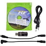 HuntGold New All 20in1 Flight Simulator Cable/USB Dongle for RC Helicopter Aeroplane Car