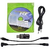 HuntGold Neue alle 20in1 Flugsimulator Kabel / USB Dongle für RC Hubschrauber Flugzeug Auto