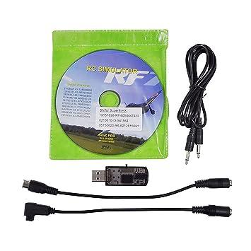 HuntGold nuevo todos los 20-in-1 cable de simulador de vuelo/USB para RC helicóptero avión para el coche: Amazon.es: Electrónica