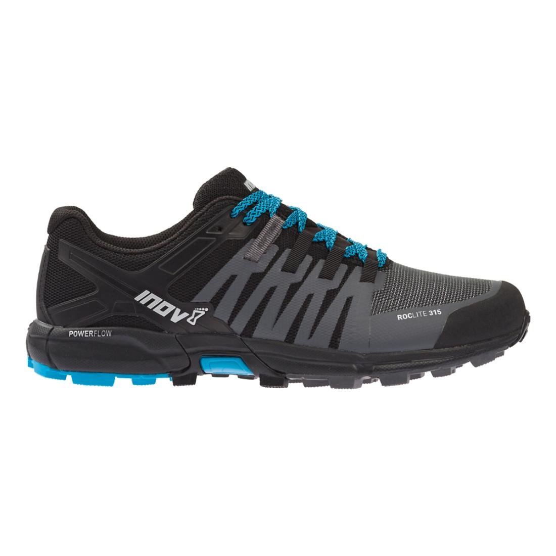 Inov8 Roclite 315 Hombre Ajuste Estándar Zapatillas De Correr Gris/Negro / Azul - gris / Negro/Azul, 8.5 UK 8.5 UK gris / Negro/Azul