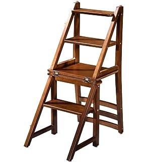 Stylla London Smart Design Solid Wood Handmade 2 in1 Chair Steps I