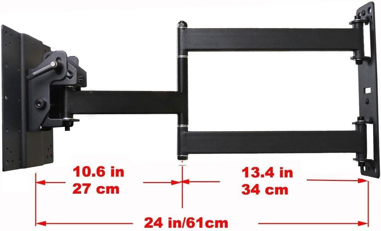 VideoSecu Articulating TV Wall Mount for LG 42LV5500 42LV3700 42LV3500 42LM5800 42LM6200 42LS3400 42LS5700 42LS5750 47LV3700 47LW6500 47LV5500 47LW5600 47G2 47LM5800 47LM6200 47LM6700 LED-LCD TV 1RQ