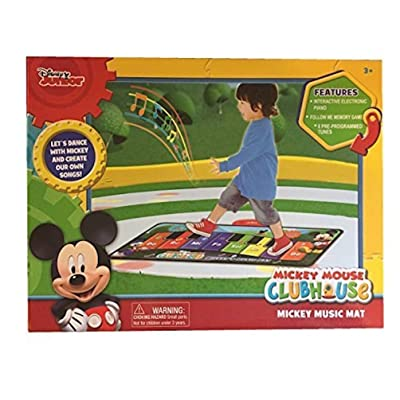 Disney Mickey Mouse Clubhouse, Music Mat Electronic Piano: Toys & Games