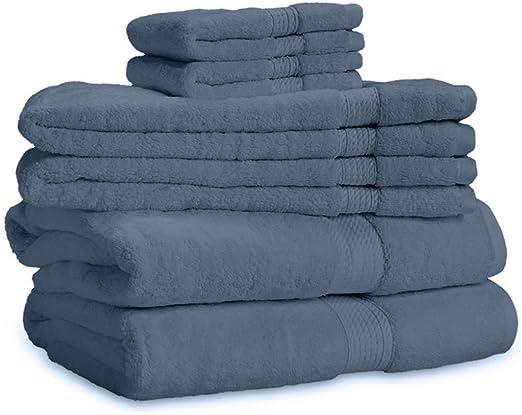 600 GSM Plush 100 Percent Plush Cotton 2 Piece Bath Sheet Set
