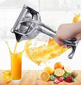 Manual juicer, pomegranate juice extractor, aluminum alloy juicer, lemon juice, sugar cane juice, orange juice, apple juice
