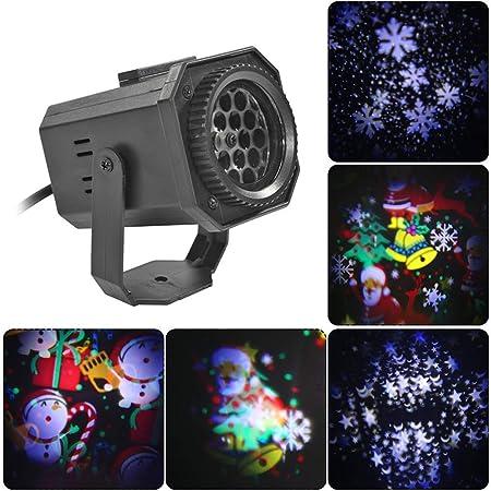 SZ&LAM Luces De Navidad para Proyectores, Luces De Navidad ...