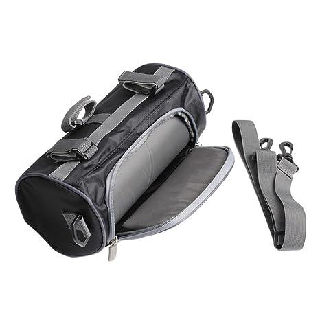 waterfail Motorcycle Roll Bag, 2.5L, Bolsa De Herramientas para Motos O Bolsa De Horquillas Delanteras Almacenamiento De Equipaje, Bolsa De ...