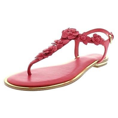74daa9e2174b Michael Michael Kors Womens Tricia Thong Leather Split Toe