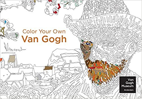Color Your Own Van Gogh: Van Gogh Museum Amsterdam: 9780062436429 ...