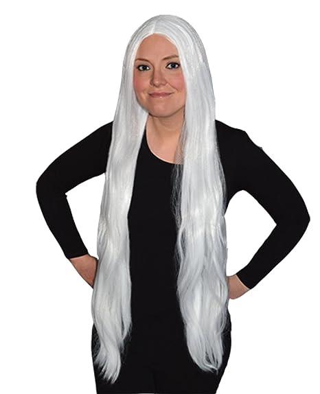 Peluca para mujer de Fancy Dress Wigs, peluca trenzada para disfraz o Halloween, color