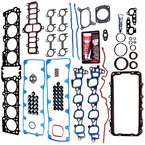 Gasket Sohc Kit Full (Full Gasket Sets ECCPP Automotive Replacement Engine Full Gasket Kits for Ford E-150/E-250 E-150 Econoline F-150 Expedition 2002 2003 2004 4.6L 5.4L V8 SOHC)