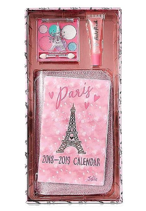 Amazon.com : Justice For Girls Paris Make Up Agenda Gift Kit ...