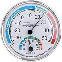 Besttse - Termómetro analógico para el hogar, medidor