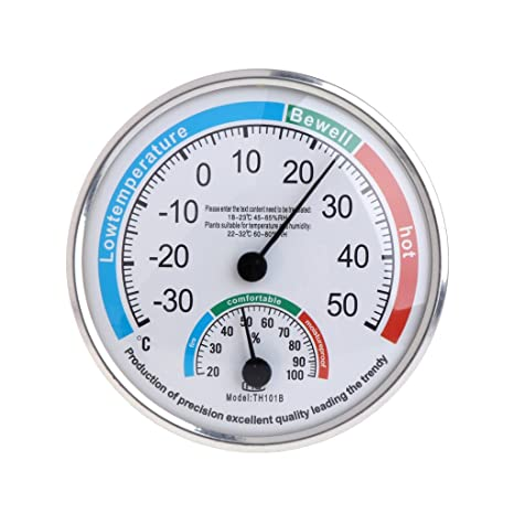 Amazon.com: OTGO Household Wall Hanging Analog Thermometer Hygrometer Temperature Humidity Monitor Meter Gauge: Home & Kitchen